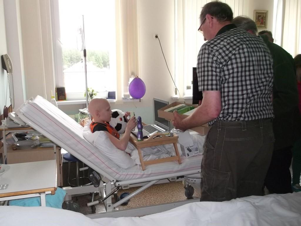 Im  Minsker Krankenhaus