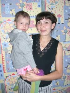 Jaromitsch, Anastasia leidet an Leukämie und Entwicklungsverzögerung