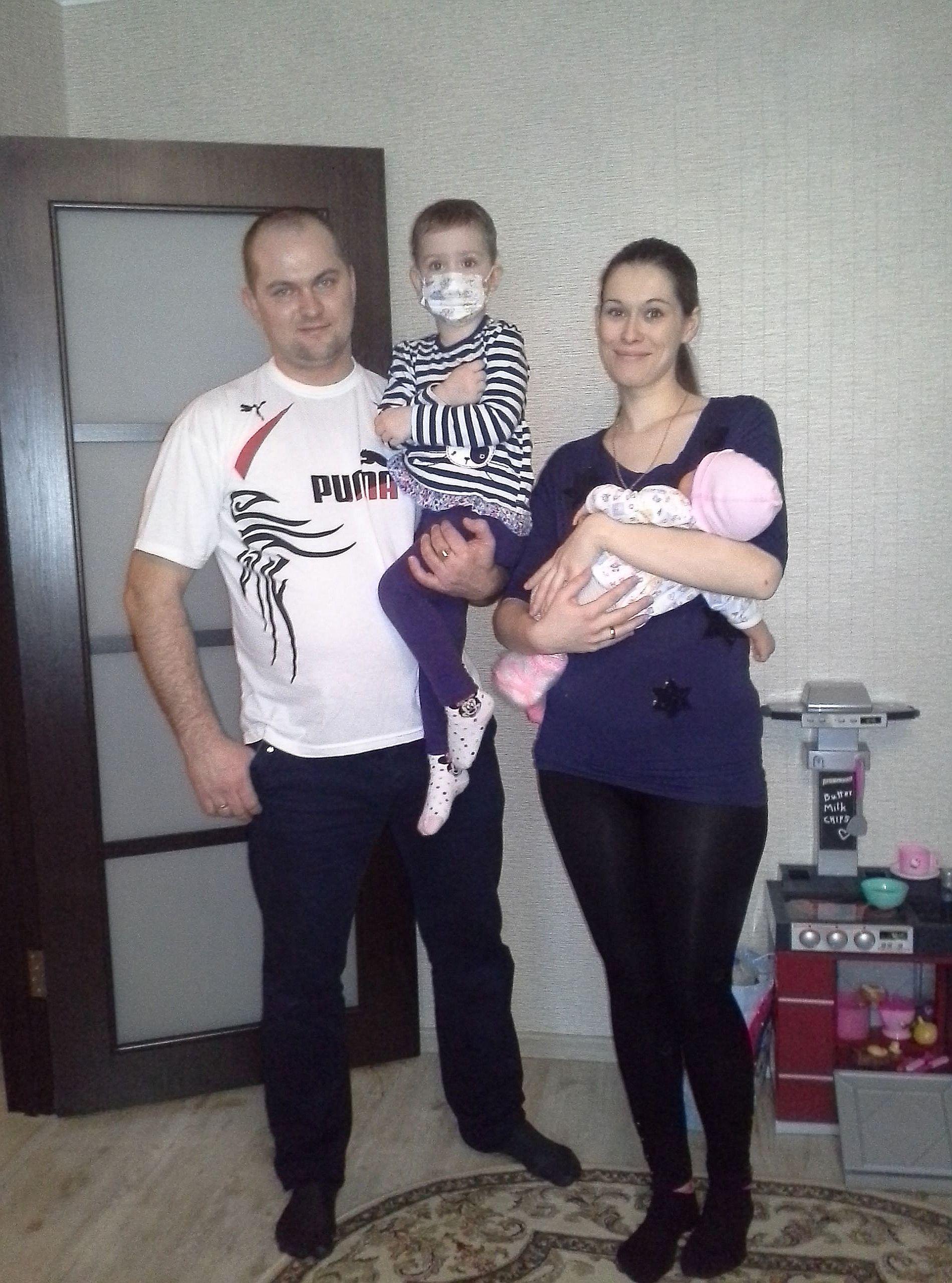 Ein neu erkranktes Kind unseres Partnervereins ist Dima Samusik, der an Leukämie leidet.